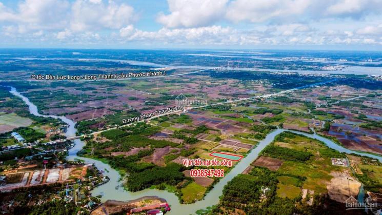 Đất dân bán giá rẻ mùa dịch, đất mặt tiền sông lớn gần đường cầu Cát Lái, xã Phước Khánh Nhơn Trạch ảnh 0