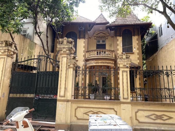 Cho thuê nhà biệt thự phố Hàng Bún, Ba Đình. 385m2 XD 180*3,5 tầng, có sân vườn, MT 12m, giá 230 tr ảnh 0