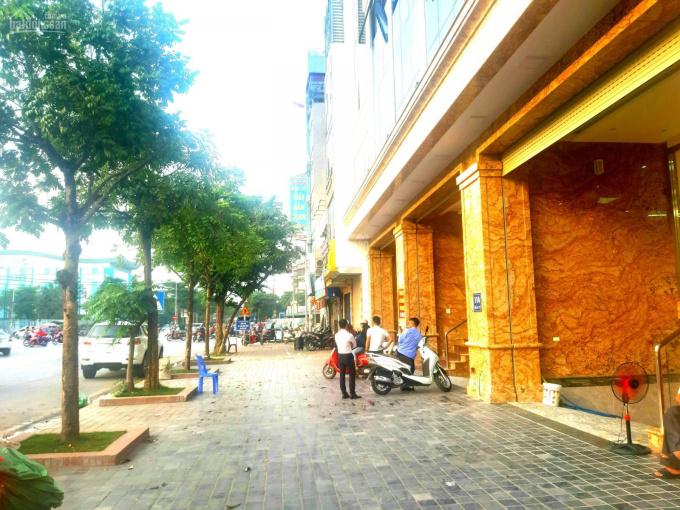 Chính chủ cho thuê mặt bằng tầng 1 phố Trần Vỹ, Cầu Giấy, HN, mặt tiền 6,5m, 135m2, LH: 0986329050 ảnh 0