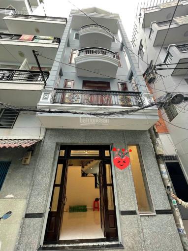 Wow, nhà 3 MT HXH đường Trường Sa, Phú Nhuận, 50m2, 4 lầu, 10.9 tỷ ảnh 0