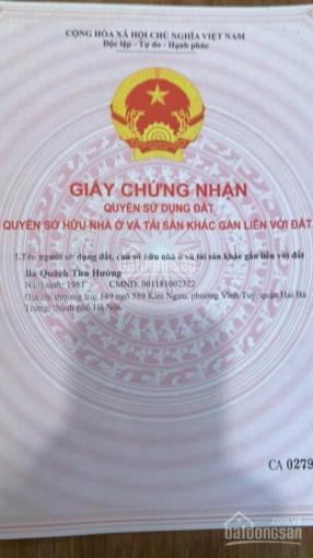 Nhỉnh 1,7 tỷ có lô đất dt 40m2, mt 6m - tặng nhà cấp 4 phố Lê Hồng Phong - Hà Đông - 20 ô tô tránh ảnh 0
