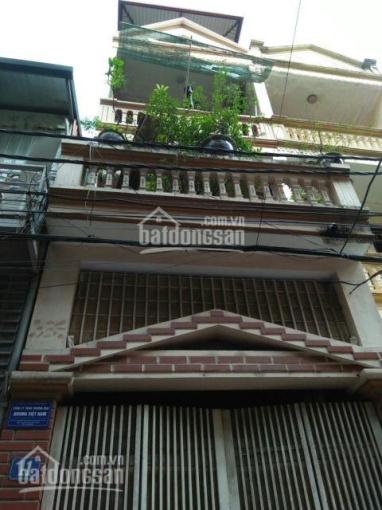 CC cho thuê nhà 3 tầng phố Hoa Bằng, DT 57m2, 3 ngủ, 3 WC, giá 12 triệu/tháng. LH 091 303 8271 ảnh 0