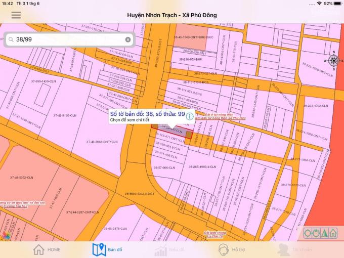Cần bán 447m2 đất mặt tiền Trần Văn Trà ảnh 0