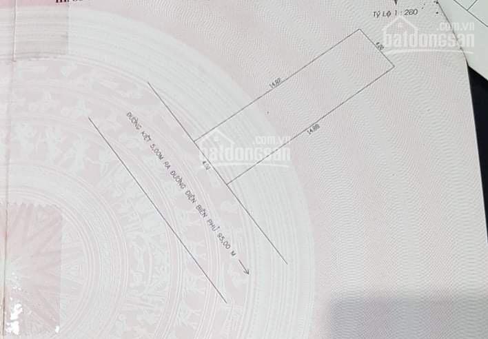 Bán lô đất kiệt oto đIện Biên Phủ, vuông vắn ngang 4m ảnh 0