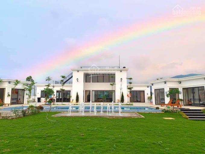 Bán biệt thự có sẵn siêu đẹp tại Lương Sơn, Hòa Bình. DT 4344,3m2 trong đó có 200m2 đất ở ảnh 0