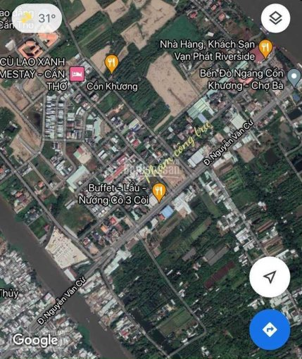 Bán nền đường Phạm Công Trứ khu Cồn Khương Cần Thơ - giá 7.6 tỷ ảnh 0