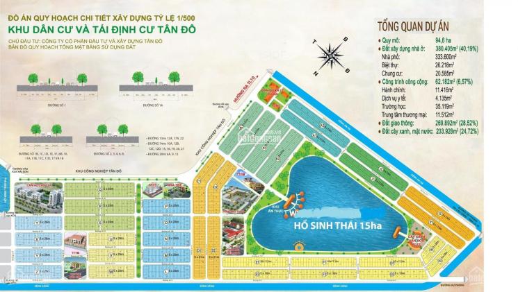 Chủ bán gấp KCN Tân Đô, Hương Sen Garden biệt thự view hồ duy nhất giá rẻ hơn cty đang bán ảnh 0