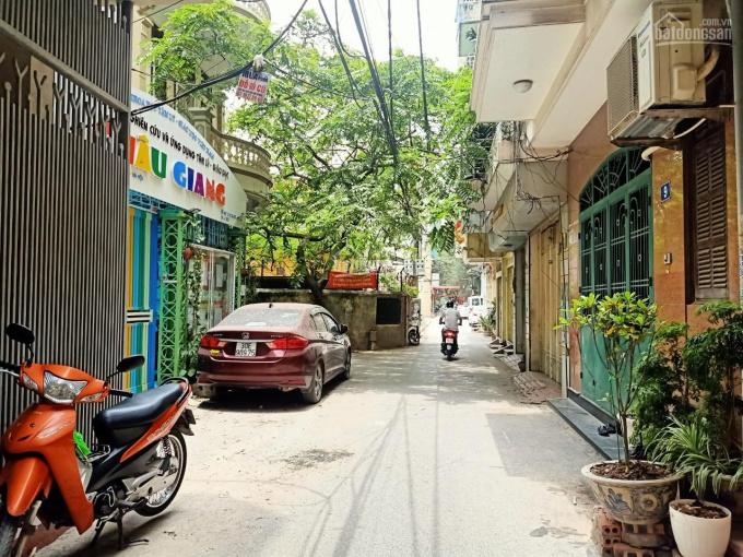 Bán nhà Bách Khoa, đường Tạ Quang Bửu, Hai Bà Trưng, phân lô, ô tô đỗ cửa, DT 40m2 x 5 tầng MT 4,5m ảnh 0