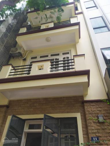 Cho thuê nhà Kim Giang, DT 100m2, xây dựng 80m2, 4 tầng, MT 5m, xe tải đỗ cửa. Giá 18 triệu/tháng ảnh 0