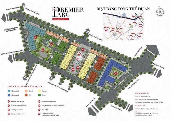 Suất ngoại giao LK 90m2,120m2 view quảng trường tại FLC Premier Parc xây 5 tầng, giá chỉ hơn 10 tỷ ảnh 0