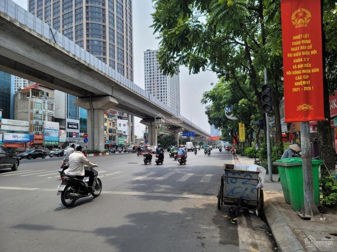 Bán nhà lô góc 5 tầng 50m2 phố Nguyễn Trãi sát Ngã Tư Sở đường trước nhà ô tô tránh, KD sầm uất ảnh 0