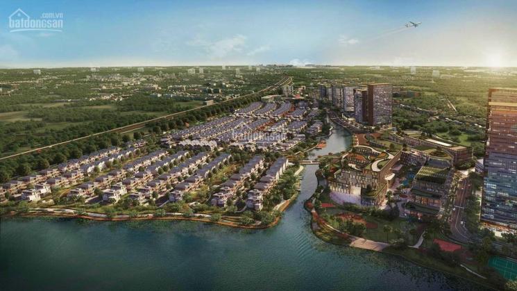 Biệt thự Song lập ven Sông - Trung tâm Long Thành, gần Sân bay & Cao tốc, giá: 5.7 tỷ/căn ảnh 0