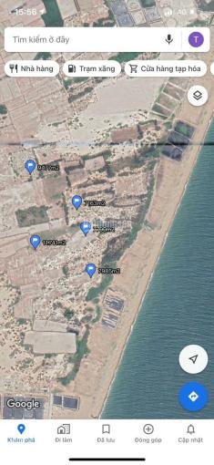 Bán đất 1600m2 mặt tiền biển xã Hòa Thắng ảnh 0