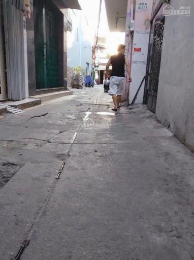 Nhà hẻm 1 sẹc Nguyễn Nhữ Lãm, Tân Phú. 3,73 x 13,85m nở hậu 4,1m (49,5 m2) ảnh 0