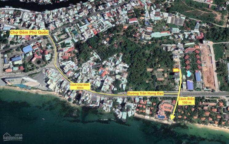 Siêu phẩm đất xây khách sạn Phú Quốc, cách biển 100m, 1 hầm 8 tầng, mặt tiền Trần Hưng Đạo ảnh 0