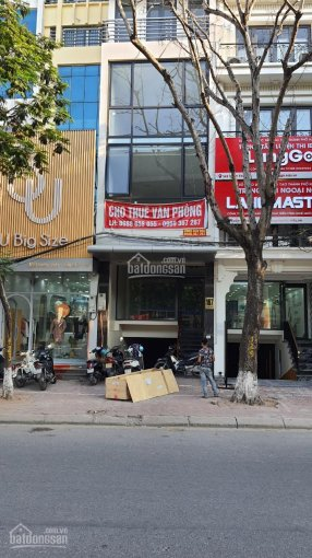 Cho thuê văn phòng mặt phố Xuân Thủy 100 - 110m2/sàn thông sàn, VP mới hoàn thiện, LH: 0988658955 ảnh 0