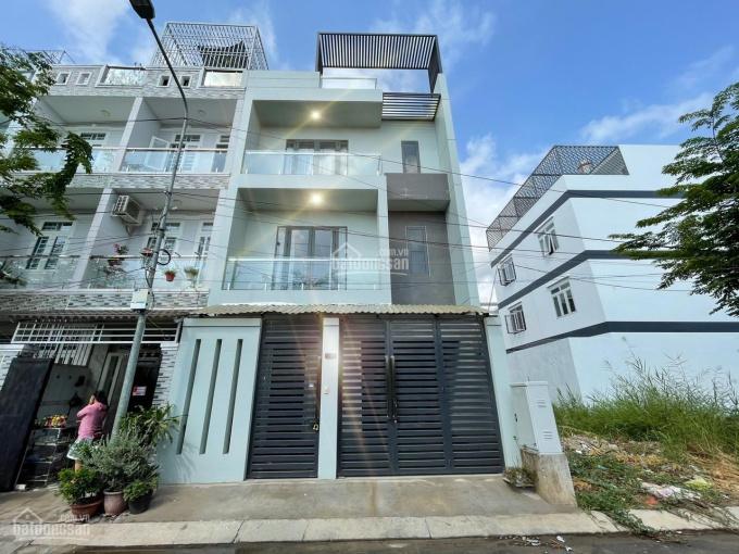 Nhà mới DT 6,5 x 13m, 04 phòng ngủ, 5 toilet, full nội thất, bảo vệ 24/24 Huỳnh Tấn Phát ảnh 0