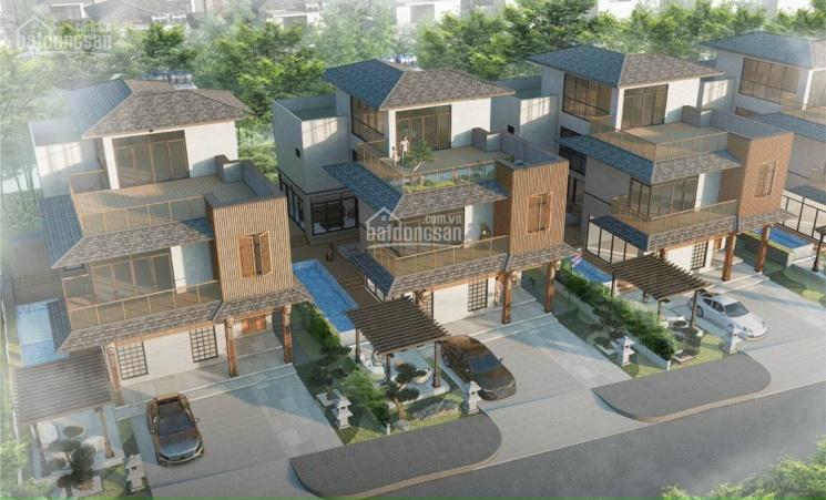 Biệt thự view suối Xanh Villas Hòa Lạc. Giá đất từ 25tr/m2 - sổ đỏ vĩnh viễn ảnh 0