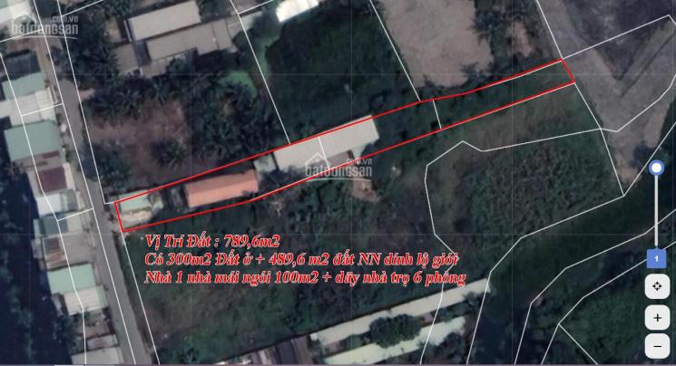 Trí BĐS, nhà mặt tiền kênh Nguyễn Đình Kiên 8x100m có đất ở 300m2 ảnh 0
