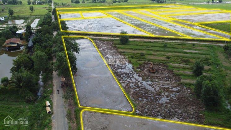 Bán gấp 20 lô đất nằm mặt tiền đường Bưng Tràm lộ giới 12m hiện hữu đường nhựa 6m ảnh 0