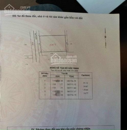 Trí BĐS, bán đất mặt tiền đường Lương Ngang 1.000m2 (884m2 đất ở) ảnh 0
