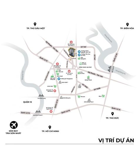 Căn hộ Tecco Felice Homes giá rẻ trung tâm Thuận An, gần các KCN và tiện ích - TT trước chỉ 200 tr ảnh 0