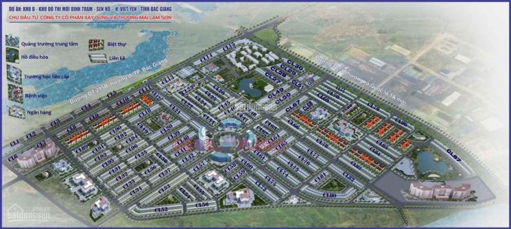 Chính chủ cần bán đất tại khu đô thị Đình Trám Sen Hồ ảnh 0