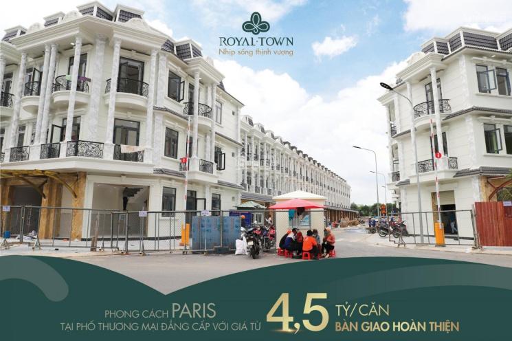 Bán shophouse và nhà phố xây dựng theo phong cách Paris, giá 4,5 tỷ - LH: 0919177696 ảnh 0