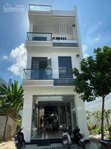 Bán nhà 2 lầu mới xây rất đẹp KDC Công An giáp Nam Long, sổ hồng hoàn công nội thất cao cấp ảnh 0