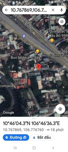 Bán dãy nhà trọ Nguyễn Thị Đinh, KP3, Thạch Mỹ Lợi Q2 20x50m full thổ đường 6m quy hoạch 12m ảnh 0