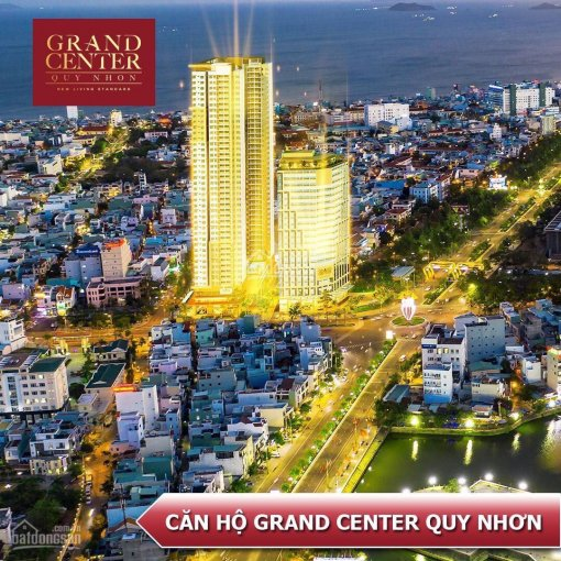 Chính chủ bán căn hộ 1PN view biển Grand Center Quy Nhơn tầng trung thoáng mát bằng giá hợp đồng ảnh 0