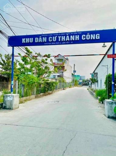 Bán nền KDC Thành Công 91B, P Long Tuyền - giá 750 triệu - DT: 4,3m x 15,m ~ 65m2 đất vườn ảnh 0