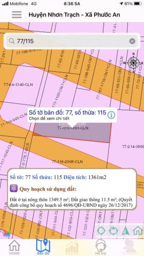 Cần bán lô đất Phước An, Nhơn Trạch, Đồng Nai. Đất đẹp trong khu dân cư đông đúc. Giá đầu tư tốt. ảnh 0