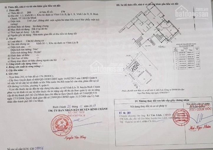 Bán shophouse khu Vĩnh Lộc, Bình Chánh bán gấp 1.65 tỷ ảnh 0