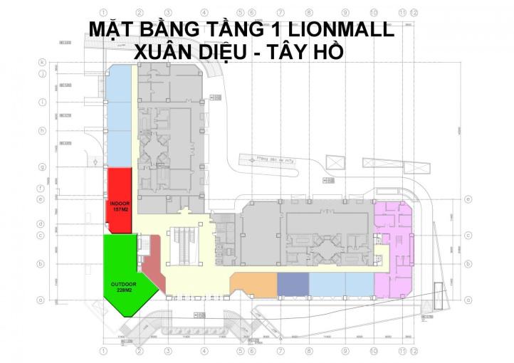 Cho thuê mặt bằng kinh doanh tầng 1 dự án D'. Le Roi Soleil Quảng An, 59 Xuân Diệu. LH 0986510510 ảnh 0