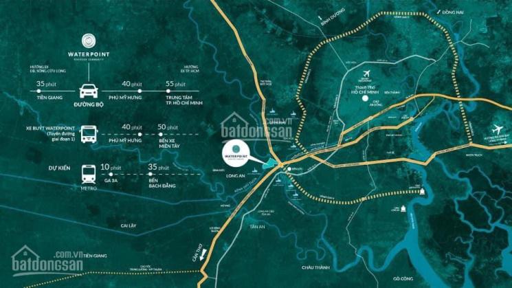 Thành phố bên sông Waterpoint Khu đô thị Phú Mỹ Hưng thứ 2 về Tây Nam thành phố ảnh 0