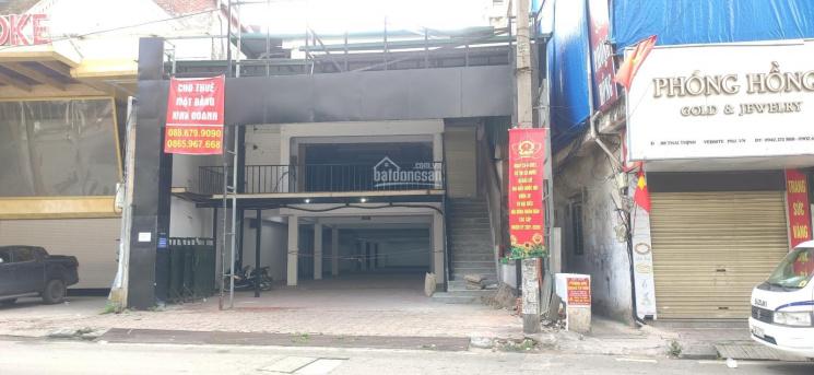 Cho thuê mặt bằng kinh doanh tầng 1 S: 340m2, MT: 12m, MP Thái Thịnh giao Tây Sơn, giá ưu đãi ảnh 0