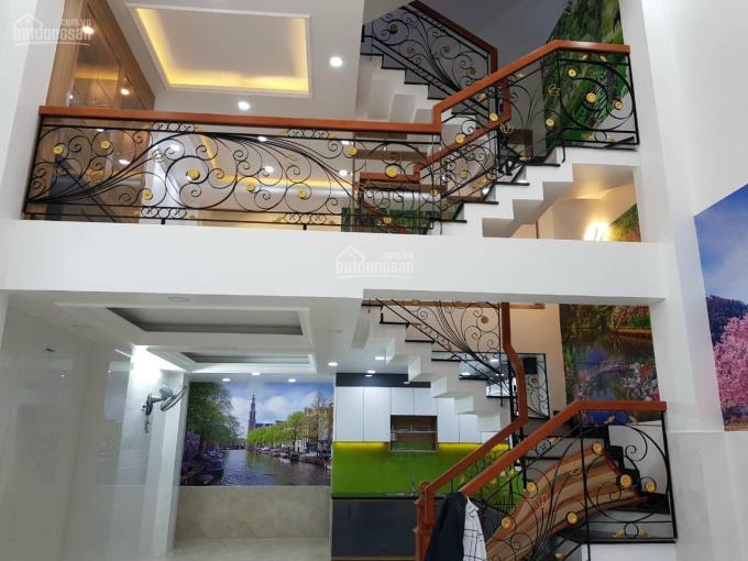 Bán nhà hẻm 5m, 5 tầng đẹp Huỳnh Văn Nghệ, Tân Bình, 79,5m2, 8 tỷ 45 ảnh 0