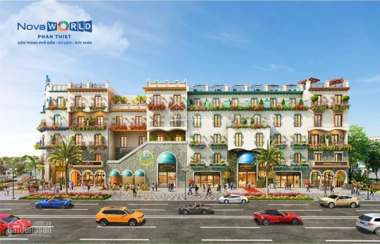 Boutique Hotel 6 tầng, chỉ 880tr - NovaWorld Phan Thiết - cam kết thuê lại lên đến 2tỷ/năm ảnh 0