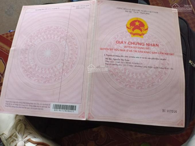 Tôi chính chủ bán 42m2 thôn Giao Tất A, xã Kim Sơn, ngõ rộng ô tô đỗ cổng. Giá: 760 triệu ảnh 0