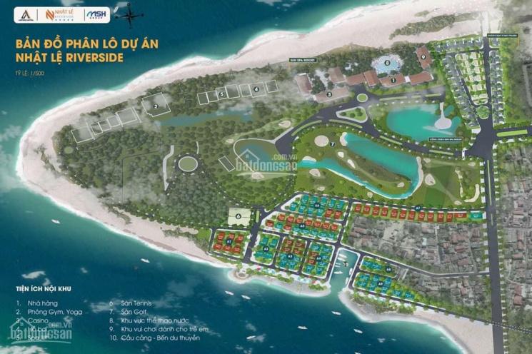 Sở hữu mảnh đất vàng mặt sông cửa biển ở Nhật Lệ, Quảng Bình giá chỉ 24tr/m2 ảnh 0