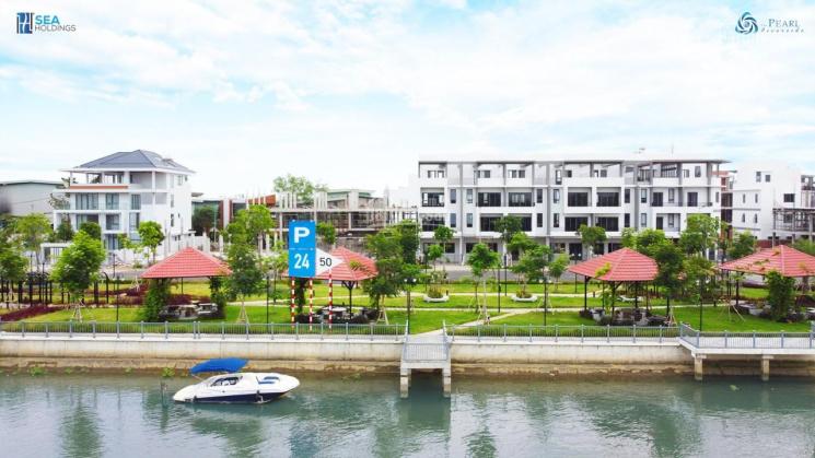 Siêu phẩm liền kề nhà phố ven sông mang kiến trúc Singapore 4,7 tỷ - 244 m, Vay 70% lãi suất 0% ảnh 0