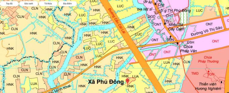 Bán lô Phú Đông, sát bên hướng tuyến cầu Cát Lái phương án mới nhất ảnh 0