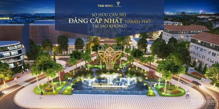 Mở bán mới giai đoạn mới đẹp nhất dự án Crown Villa giá bán hấp dẫn ảnh 0