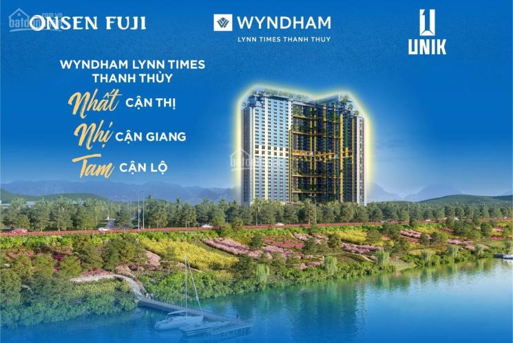 4,2 tỷ sở hữu ngay 1 căn liền kề thương mại 220m2 ở tổ hợp khoáng nóng 5* Wyndham Thanh Thủy ảnh 0