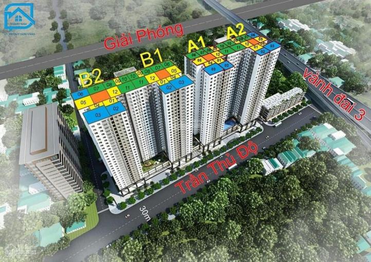 Chính chủ bán gấp căn hộ 1601 - 56.8m2 chung cư Phương Đông Green Park, giá 1.6 tỷ. LH 0964964059 ảnh 0