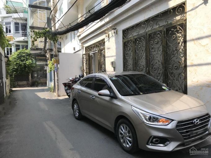 Cho thuê nhà Hoàng Hoa Thám, Quận Phú Nhuận 4 lầu mới TK Cổ Điển full nội thất cao cấp hẻm xe hơi ảnh 0