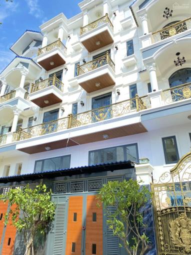 Bán nhà 4 tầng thiết kế đẹp để được oto trong nhà ngay khu đô thị Vạn Phúc gần Ngã Tư Bình Triệu TĐ ảnh 0