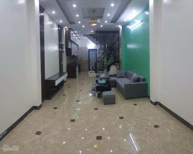 Bán nhà 43m2x5T xây mới Nguyễn Khoái dốc Minh Khai, ô tô đỗ cách nhà 30m, thoáng đẹp giá 4,25tỷ ảnh 0