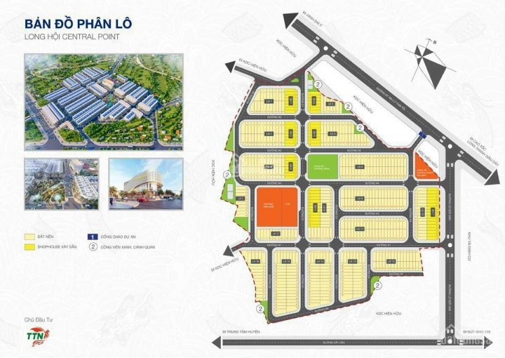 Bán đất Long Hội Central Point, ngay TTHC Nhơn Trạch, giá chỉ 20tr/m2, NHHT 70%, LH: 0962357187 ảnh 0